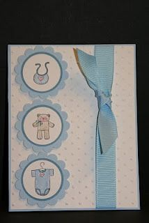 My Creative Corner!: Baby Bundle Baby Card (Another one!)