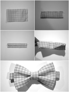 BIY bowtie!! sized to fit a toddler. Easy and quick tutorial. must see