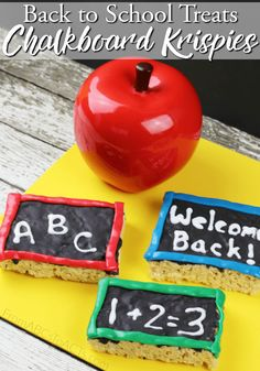 Make heading back to school a little sweeter this year with these delicious…