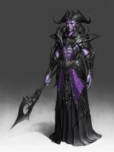 Devil priest., Hwang hyunsoo on ArtStation at https://www.artstation.com/artwork/omvyW