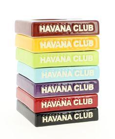 Cendrier Havana Club - Cendrier solito bleu