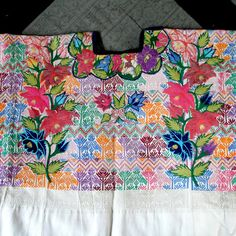 Vintage Guatemalan Huipil Blouse Traditional Ethnic by ForetTwo, $150.00