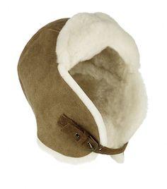 Canada Goose chilliwack parka sale fake - Khaki Suede Shearling Pilot Hat