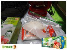 Este verano de acampar no olvides guardar tu jabón y productos antibacteriales en una bolsa hermética STOREit