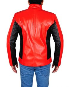 SPIDER MAN LAST STAND LEATHER JACKET Hero Spiderman, Last Stand, Marvel Comics, Leather Jacket, Celebs, Sleeves, Jackets, Black, Tops