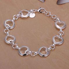 Cuff Jewelry, Bangle Bracelets, Silver Jewelry, Jewelry Accessories, Jewelry Design, Wire Jewelry Making, 925 Silver Bracelet, Fashion Jewelry, Jewels