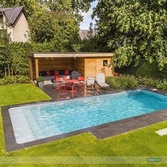 Brigtly coloured graden... :-) #lifestyle #design #health #summer #relaxation #architecture #pooldesign #gardendesign #pool #pools #swimmingpool #swimmingpools #niveko #nivekopools