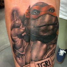 tmnt realistic tattoo - Google Search