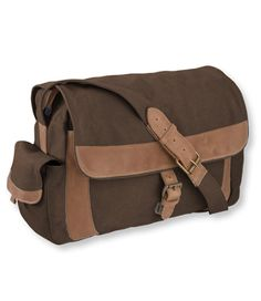 Sunwashed Canvas Messenger Bag: Shoulder Bags | Free Shipping at L.L.Bean