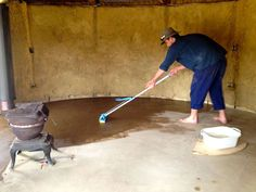Making a DIY Earthen Floor: two methods for Strawbale or Cob Houses | Milkwood