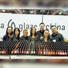 With the Glaze team at the 2017 ISSE Long Beach, 01/2017.