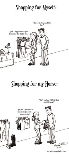 ON HORSE NATION >> The Idea of Order: Shopping