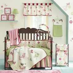 NoJo® Alexis Garden Baby Bedding and Accessories  found at @JCPenney