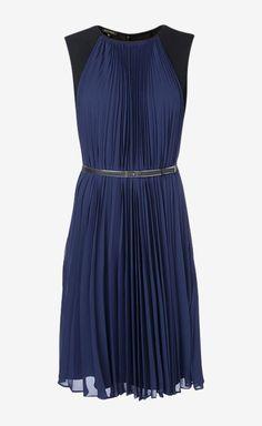 Escada Blue Dress | VAUNTE