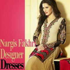 Looks So Smart In Designer Dress And Long Frock Costume - Nargis Fakhri - Fashion Guru - All in one Wallpaperss