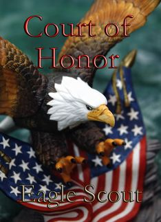 Court of Honor Invitation for Eagle Scout Award Ceremony.