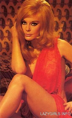 Elke Sommer, always wondered what she'd like with long hair. Classic Beauty, My Beauty, Mamie Van Doren, Anita Ekberg, Ursula Andress, Hooray For Hollywood, Raquel Welch, Jayne Mansfield, Vintage Beauty