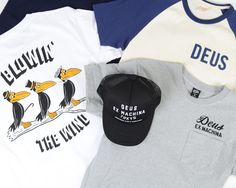 New #menswear arrivals for #Spring from #Deus