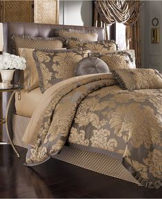 CLOSEOUT! J Queen New York Melbourne Comforter Sets - Bedding Collections - Bed & Bath - Macy's
