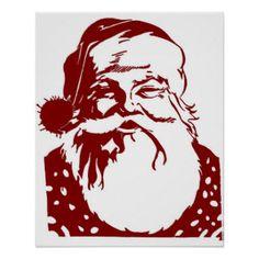 pop art images of santa claus - Google Search