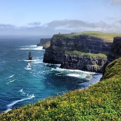 "Cliffs of Moher in Doolin, Co Clare (used as the ""Cliffs of Insanity"" in ""The Princess Bride"")"