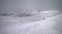 Snowboarding on the Rockies