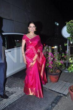 Spotted: Kangana, Anushka, Tabu And Others Clicked at a Wedding Reception! | PINKVILLA