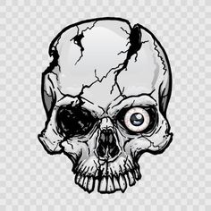 Skull Sticker Decal