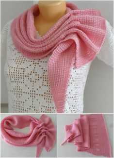 Crochet Most Beautiful Scarf – Pretty Ideas The Effective Pictures We Offer You About Knitting dress A quality picture can tell you many things. Tunisian Crochet, Crochet Shawl, Free Crochet, Knit Crochet, Knitting Blogs, Free Knitting, Knitting Patterns, Crochet Patterns, Crochet Ideas