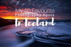 This 10 day road trip itinerary for Iceland is focused on visiting the best photography spots around the island. From raging waterfalls through ice lagoons ending with dramatic coastal cliffs there is something to be found in Iceland for every photography lover.