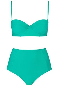 The 30 Best Swimsuits For $50 Or Less #refinery29  http://www.refinery29.com/cheap-swimsuits#slide-27  Make your fellow beach bums green with envy.