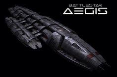 Battlestar Aegis - Battlestar Galactica BSG