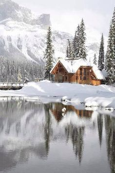 DREAM/Bucket List Christmas with family in a Cabin with Snow all around us...