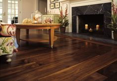 Walnut Wide Plank Floor - traditional - wood flooring - new york - by Heritage Wide Plank Flooring