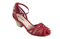 #Sandália vermelha