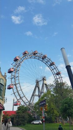 Ferris wheel in Prater, Vienna