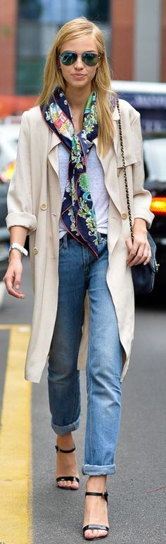 scarf and coat