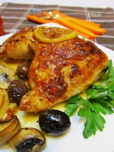 Кулинарен еликсир: пилешки бутчета по гръцки