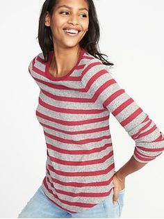 Plush-Knit Long-Line Open-Front Sweater for Women Denim Jacket Fashion, Banana Republic Women, Navy Women, Rib Knit, Old Navy, Sweaters For Women, Clothes For Women, Tops, Navy Outfits