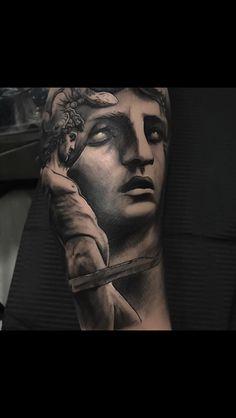 Perseo y medusa tattoo
