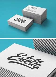 Today's special is a new business cards mock-up perfect for a neat design that stands out through the subtle...