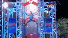 "Upper-Body and Grip Strength Exercises Inspired By ""American Ninja Warrior"" America Ninja Warrior, Ninja Warrior Course, Grip Strength Exercises, Kacy Catanzaro, Obstacle Course Training, Cultura General, Sports Day, Body Makeup, Cool Inventions"