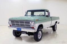 60's and 70's Ford trucks are red hot at the moment, with prices steadily rising.  The market is saturated with restored, two wheel drive models in all sorts of pretty two tone colors.