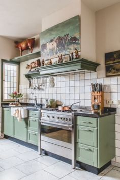 """This traditional kitchen is from our feature """"Go with the Glow"""""""