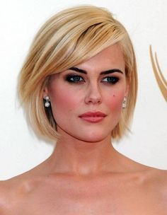 Bob Hairstyles : Short Bob Hairstyles with Bangs for Fine Hair Layered Bob… More