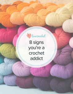 Are you a crochet addict? Find out at LoveCrochet!