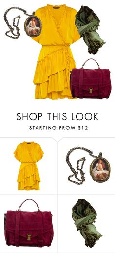 """""""ch"""" by cute-and-red ❤ liked on Polyvore featuring Marissa Webb, Proenza Schouler and canvas"""
