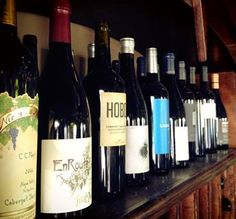 Twenty four fabulous wines in-house. - The Back Abbey, Claremont, Ca