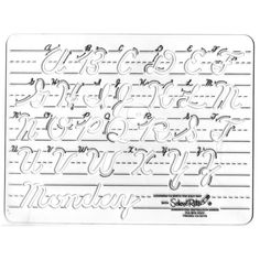 print out custom handwritting sheets from here in print, D