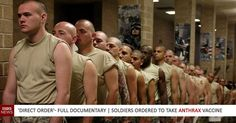 """""""Direct Order"""": An Award-Winning Documentary Tells the Story of Members of the Military who were Ordered Against their Will to Take the Controversial Anthrax Vaccine."""